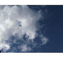 Cloud Puff Photographic Print