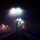 The light on the platform by Hung Lin