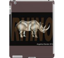 Rhino Text iPad Case/Skin