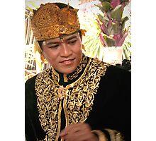 Bridegroom, Ubud, Bali, Indonesia Photographic Print