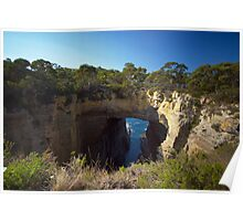 Tasman's Arch near Hobart, Tasmania Poster