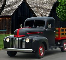 1946 Ford Flat Bed Pickup Truck by TeeMack