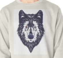 Blue wolf Pullover