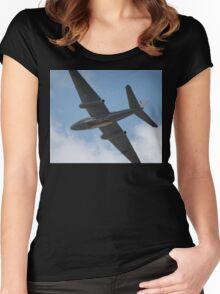 Canberra Flypast - Bomb Doors Open Women's Fitted Scoop T-Shirt