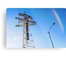 Flagstaff Motel Metal Print