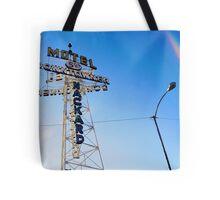Flagstaff Motel Tote Bag