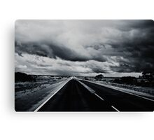 Wild West Highway Canvas Print