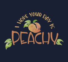 Peachy!  Kids Tee