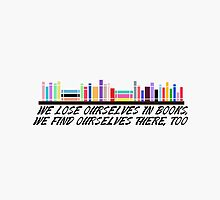 We Lose Ourselves In Books by brainsandbooks
