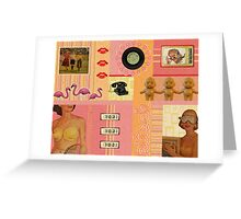 Kitschy Collage Greeting Card