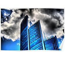 Towers in the Clouds Poster