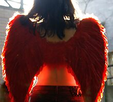 Angel in Red by Allegondashoot