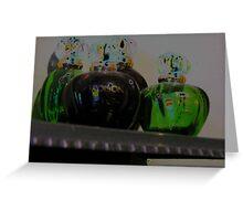 Poison Bottles Greeting Card