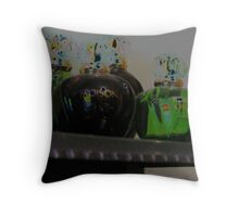 Poison Bottles Throw Pillow
