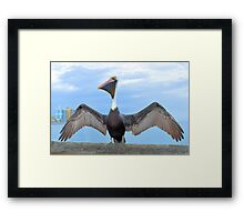 I'm Sexy And I Know It Framed Print