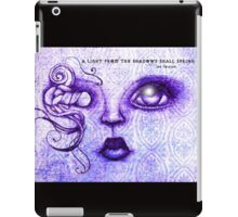 Tolkien - Poem with art by ANGIECLEMENTINE LOTR iPad Case/Skin
