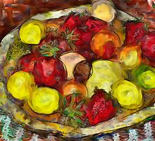Fruitbowl by Ladydi