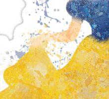 Paint Splatter Princess - Snow White Sticker