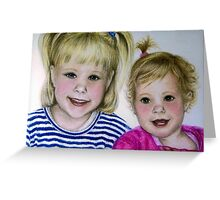 Kaylee & Kenzie Greeting Card