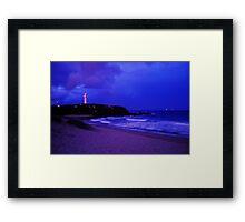 Wollongong Beach Framed Print