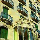 """City Life - """"Balconies, Windows, Shutters"""" p.2 by Denis Molodkin"""