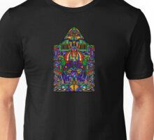 Stained Glass Triforce Unisex T-Shirt