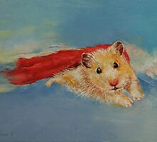 Flying Hamster by Michael Creese