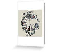 Medieval Image Restored and altered Greeting Card