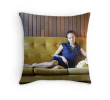 Waiting for the call Throw Pillow