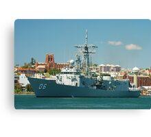 HMAS NEWCASTLE Canvas Print