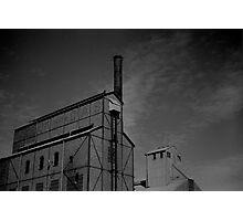 Gasworks, Launceston Photographic Print