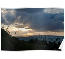 New Zealand Sunset Poster