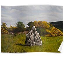 The Turraree stone, Tinnakilla , Limerick ,Ireland Poster