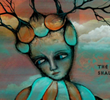TOLKIEN poem plus original art by Angieclementine word art Sticker