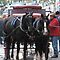 Horses pulling carts