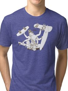 Bored? ...... Board! Tri-blend T-Shirt