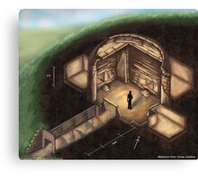 Maeshowe Tomb Canvas Print