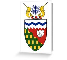 Northwest Territories Coat of Arms  Greeting Card