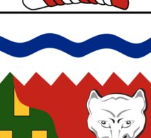Northwest Territories Coat of Arms  Sticker