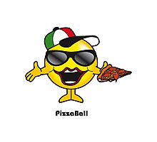 Pizza Ball Photographic Print