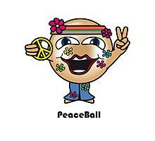 Peace Ball Photographic Print