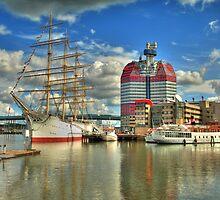 Göteborg Skyline by Hilthart Pedersen