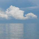 Clouds Over Georgian Bay by Tracy Faught