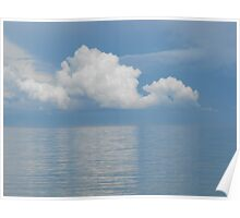 Clouds Over Georgian Bay Poster