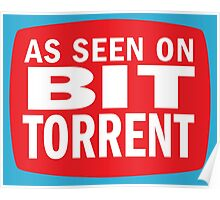As seen on BitTorrent Poster