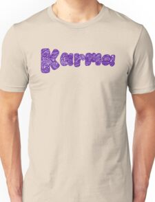 Karma - Purple Unisex T-Shirt