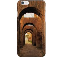 Arches of Palatine Hill, Rome iPhone Case/Skin