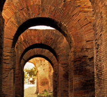 Arches of Palatine Hill, Rome Sticker