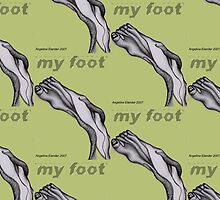 My Foot Text by Angelina Elander