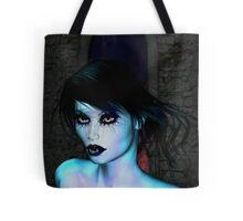 The glow of Vampire Tote Bag